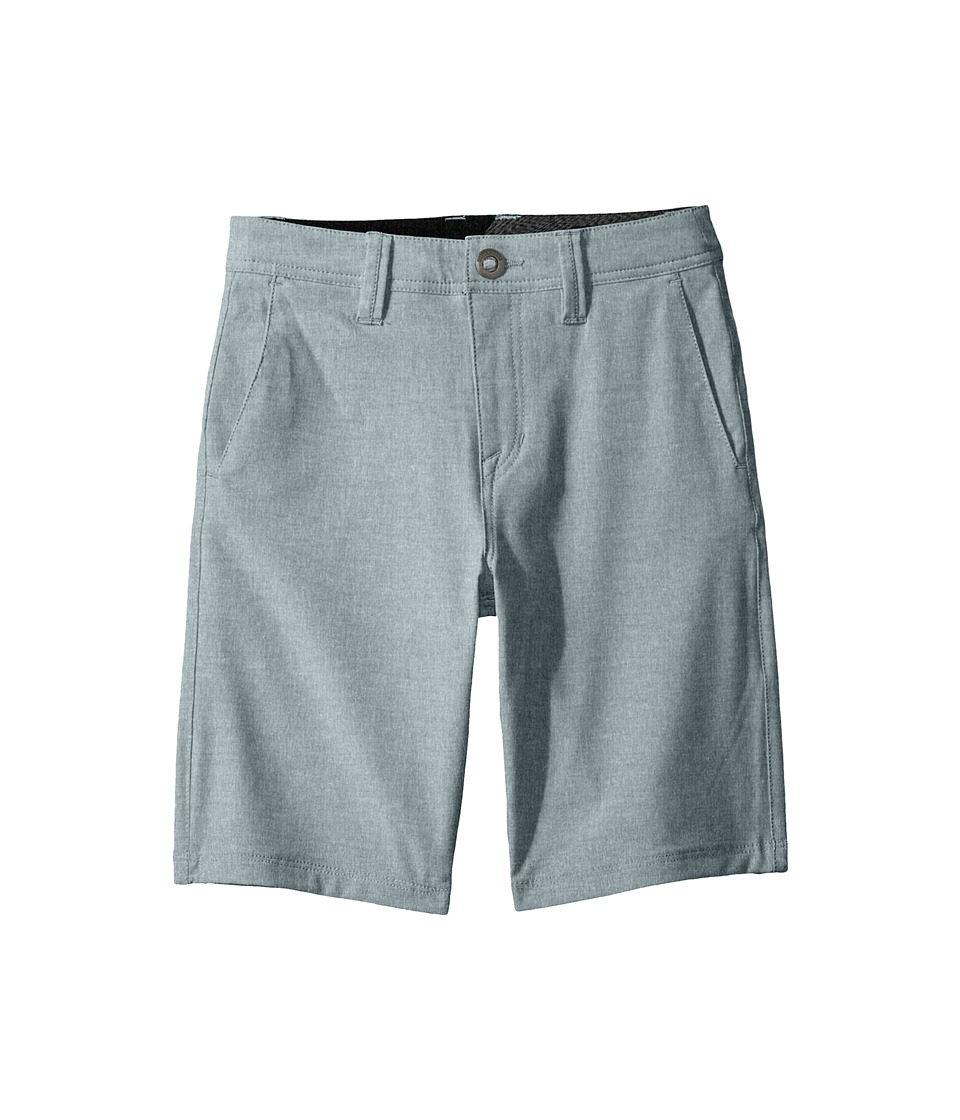 Volcom Kids - Frickin SNT Static Shorts (Big Kids) (Flight Blue) Boy's Shorts