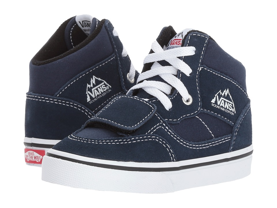 Vans Kids Mountain Edition (Toddler) ((Canvas & Suede) Dress Blues) Boys Shoes
