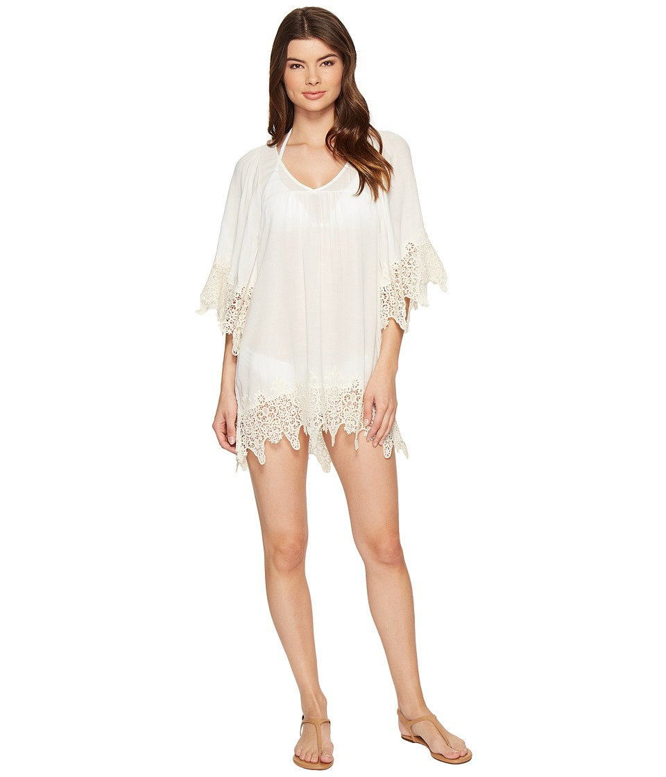 L*Space Native Springs Tunic Cover-Up (Ivory) Women