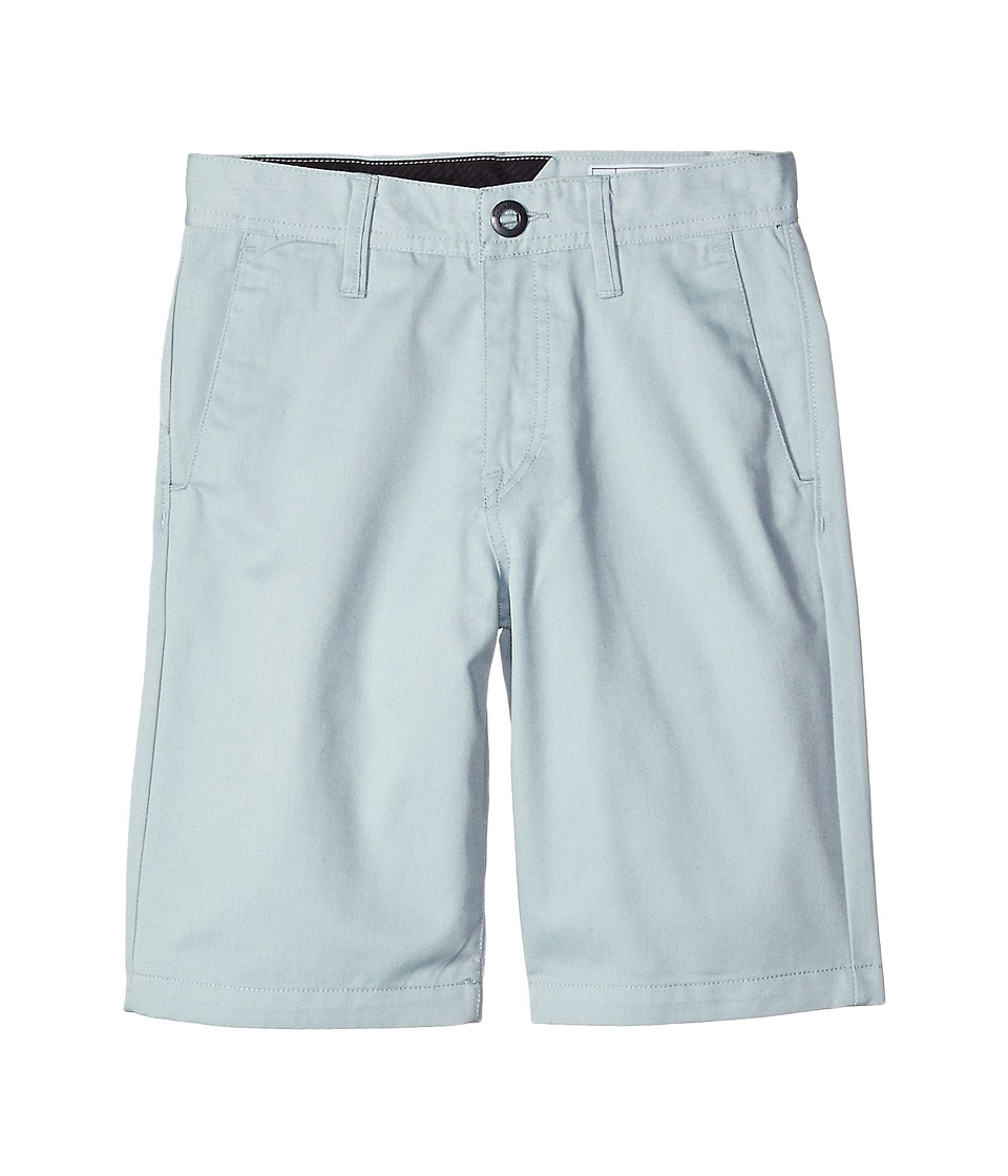 Volcom Kids - Frickin Chino Shorts (Big Kids) (Cloud Blue) Boy's Shorts