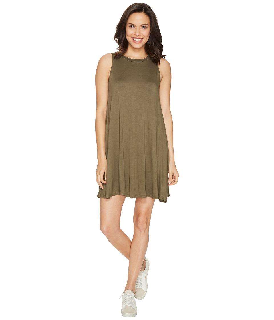 Culture Phit - Toni Sleeveless Dress (Olive) Women's Dress