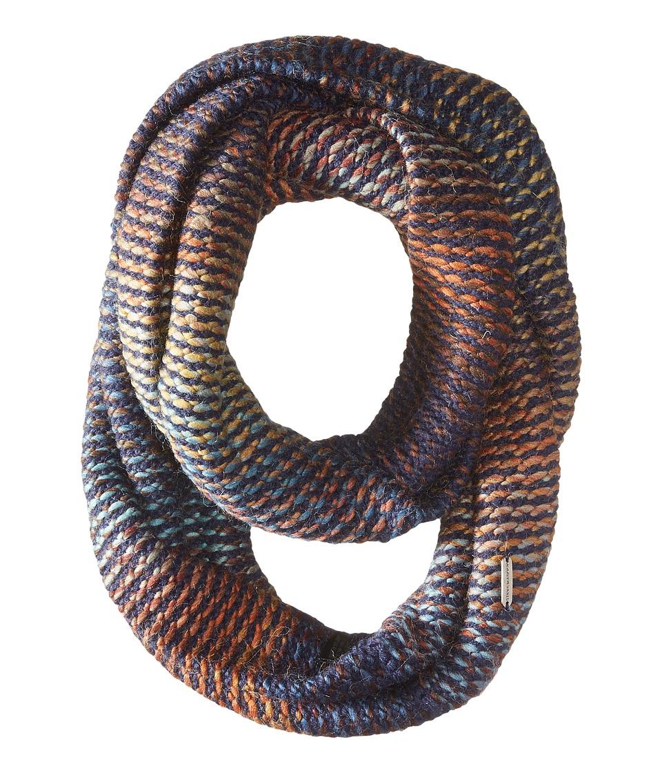 Steve Madden - Spectrum Infinity Scarf (Navy) Scarves