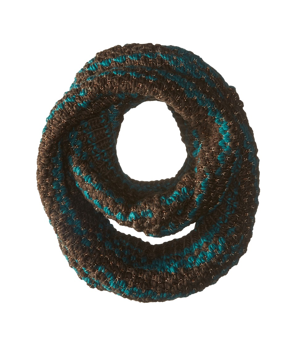 Steve Madden - Graphic Stitch Snood (Lagoon) Scarves