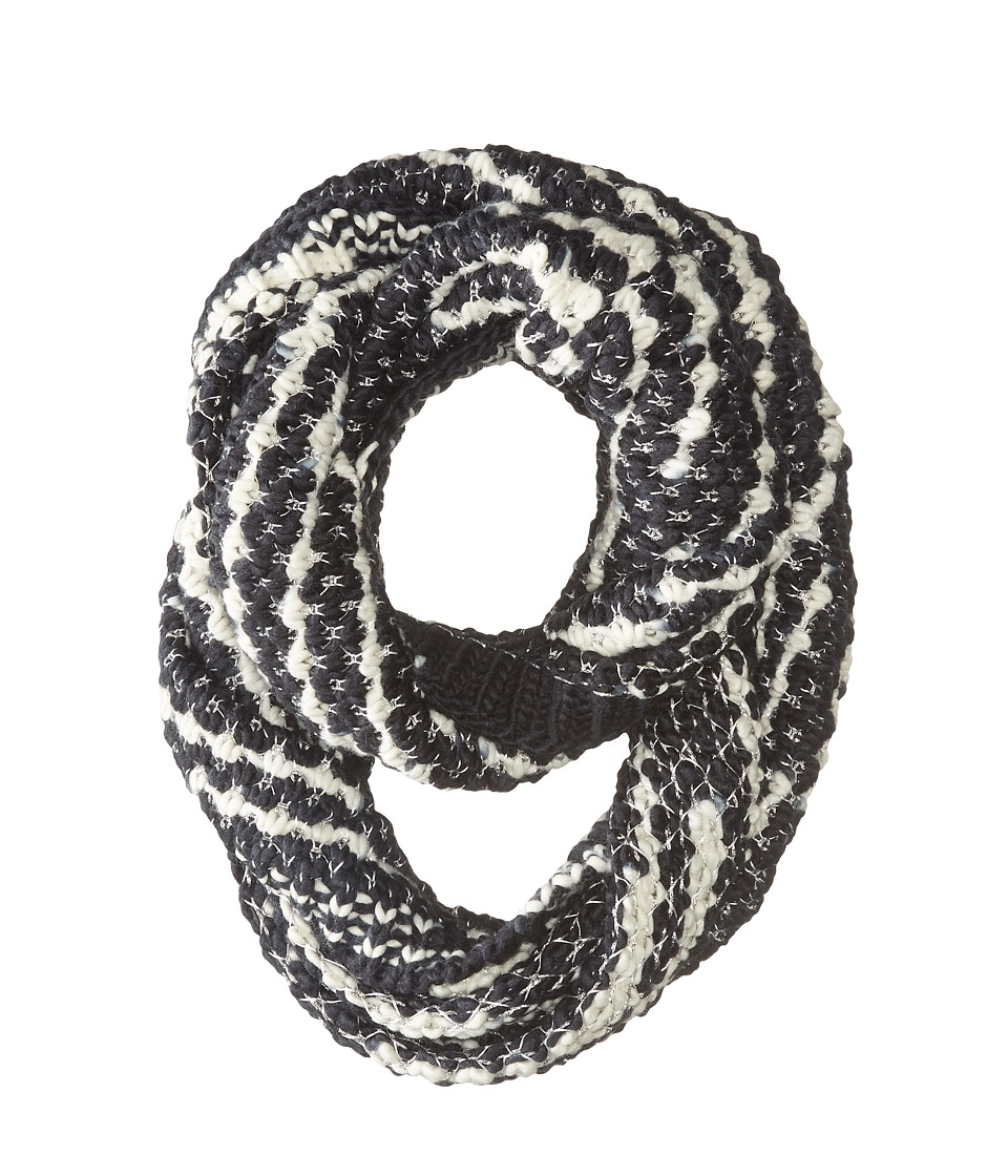Steve Madden - Graphic Stitch Snood (Black) Scarves