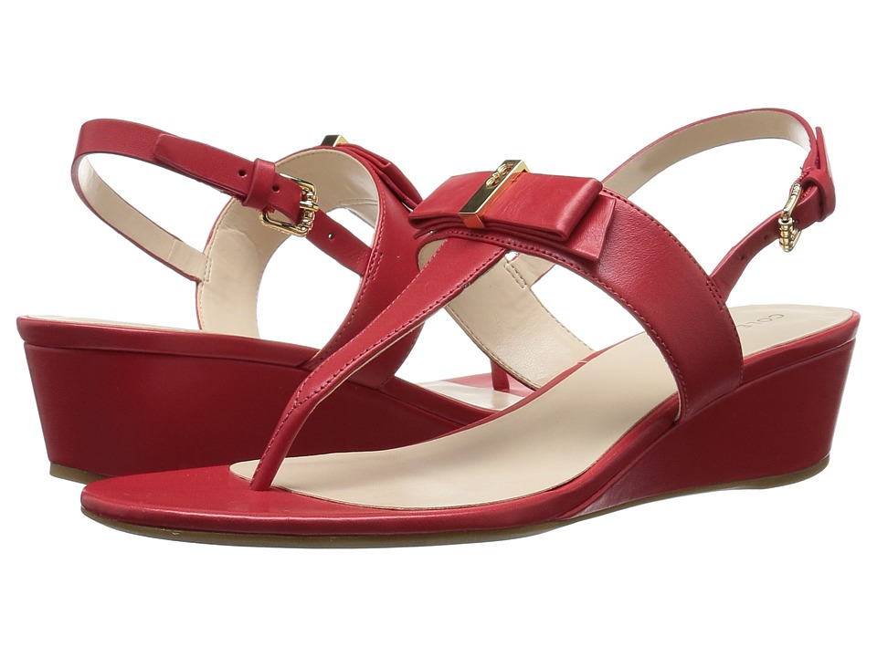 Cole Haan - Elsie Hardware Sandal II (Goji Berry Leather) Women's Sandals