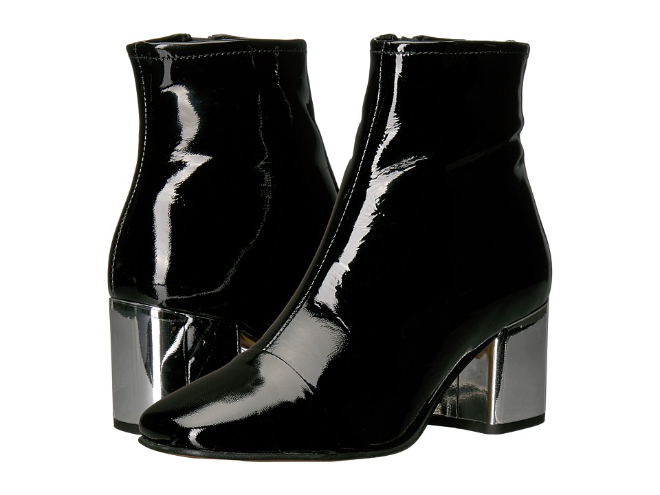 Steve Madden - Cecil (Black Patent) Women's Boots