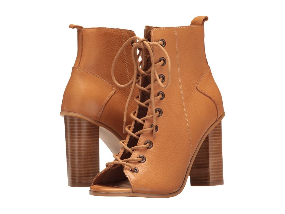 Steve Madden Ruins (Tan Leather) Women