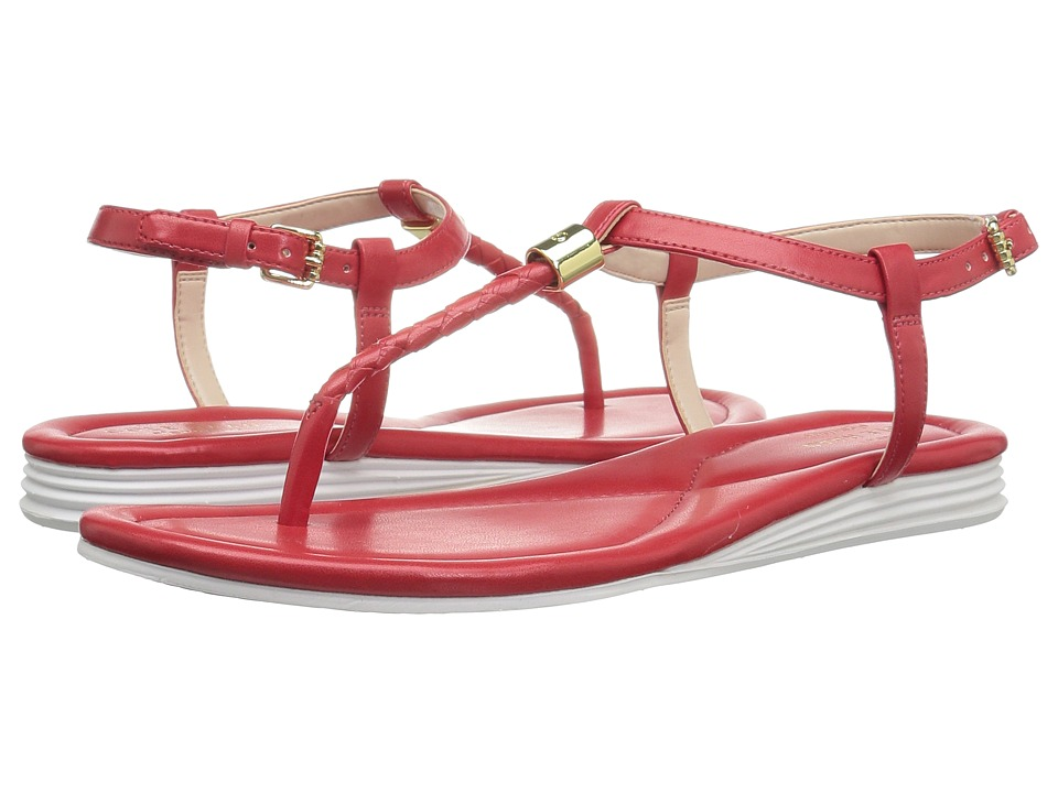 Cole Haan - Original Grand Braid Sandal II (Goji Berry Leather) Women's Sandals