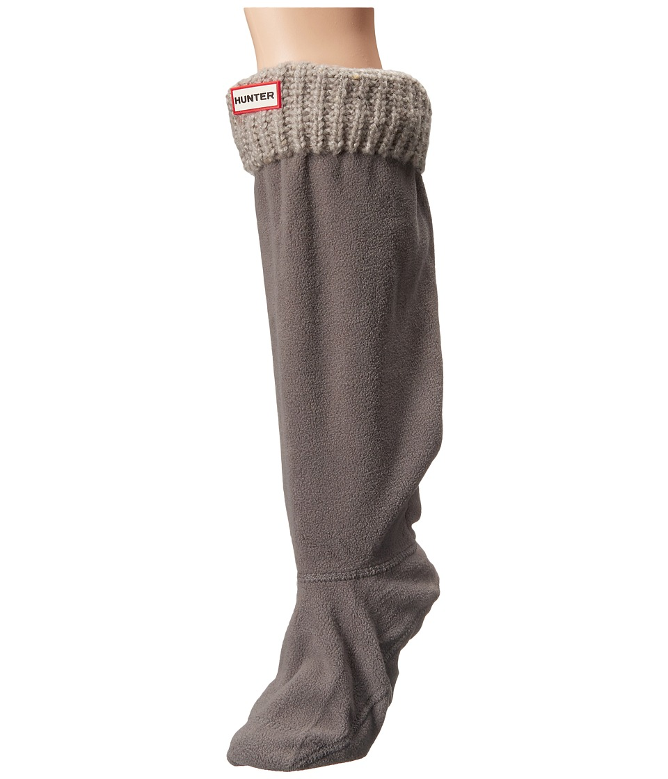 Hunter - Original Tall Boot Sock Granite Fleck (Slate) Women's Crew Cut Socks Shoes