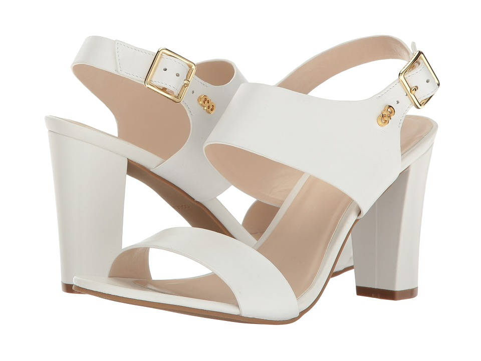 Cole Haan - Octavia Sandal II (Optic White Leather) Women's Sandals