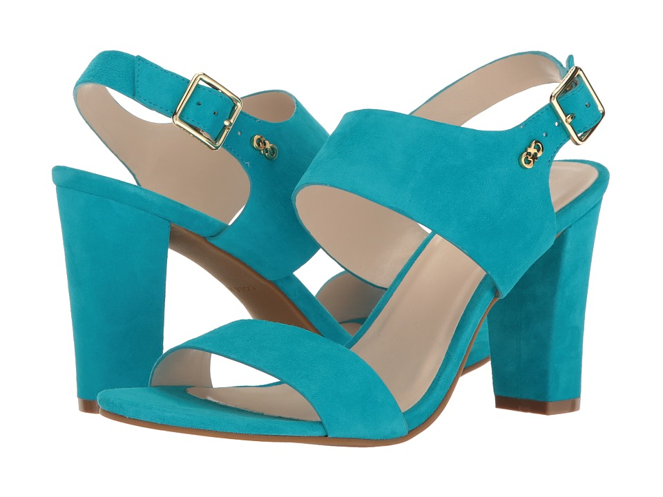 Cole Haan - Octavia Sandal II (Capri Breeze Suede) Women's Sandals