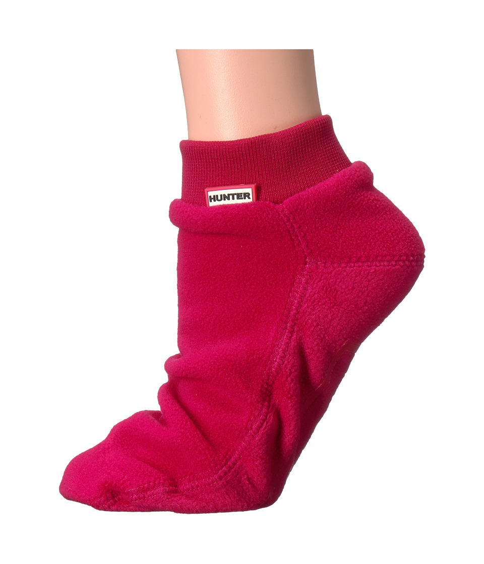 Hunter - Original Ankle Boot Sock Fitted (Red) Women's Crew Cut Socks Shoes