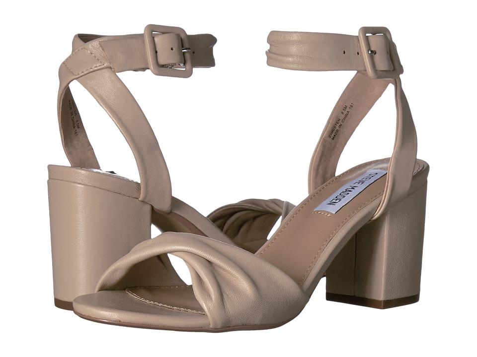 Steve Madden - Christen (Nude Leather) Women's Sandals