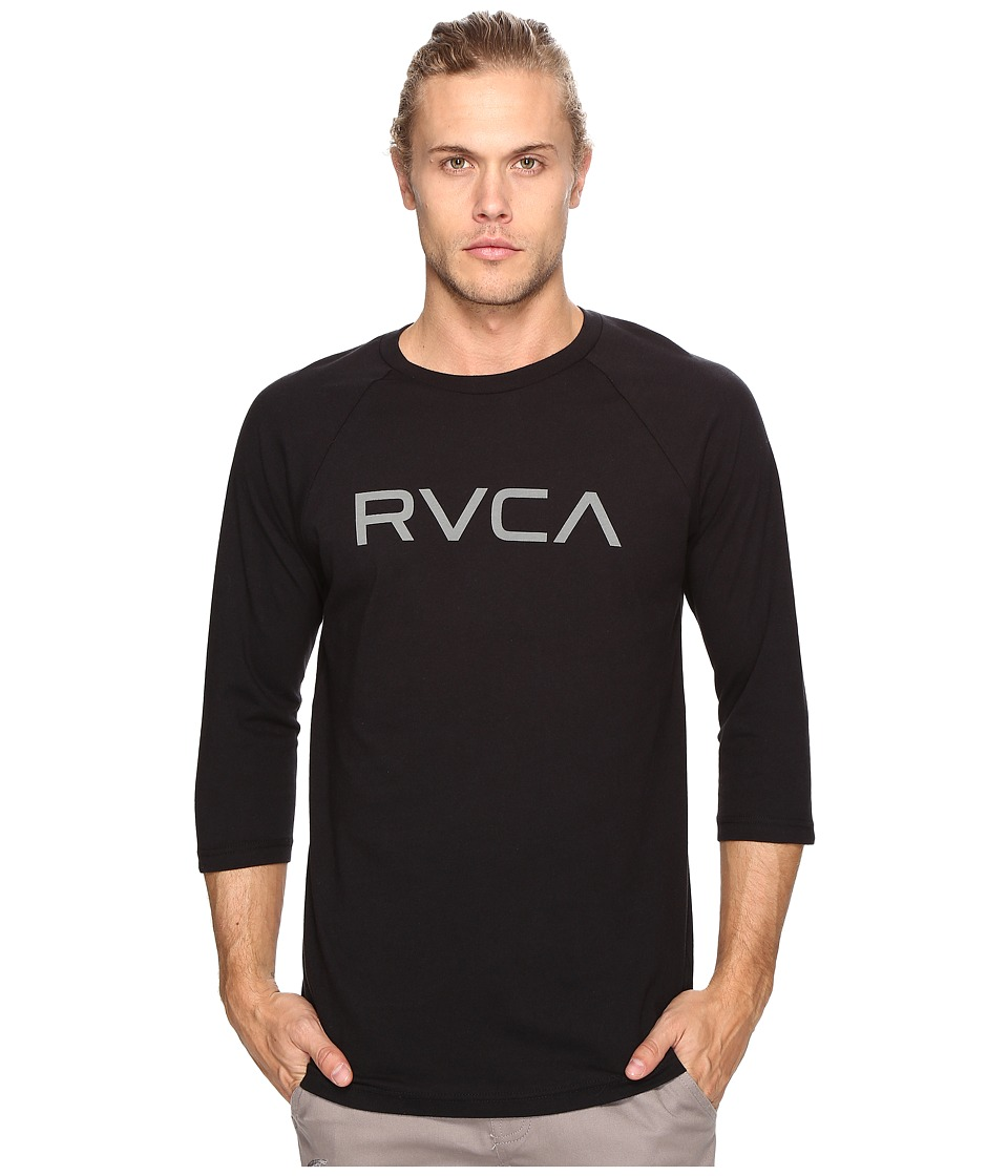 RVCA - Big RVCA (Black/Black) Men's Clothing