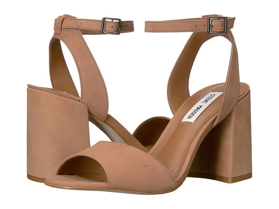 Steve Madden - Stride (Camel Nubukc) Women's Sandals