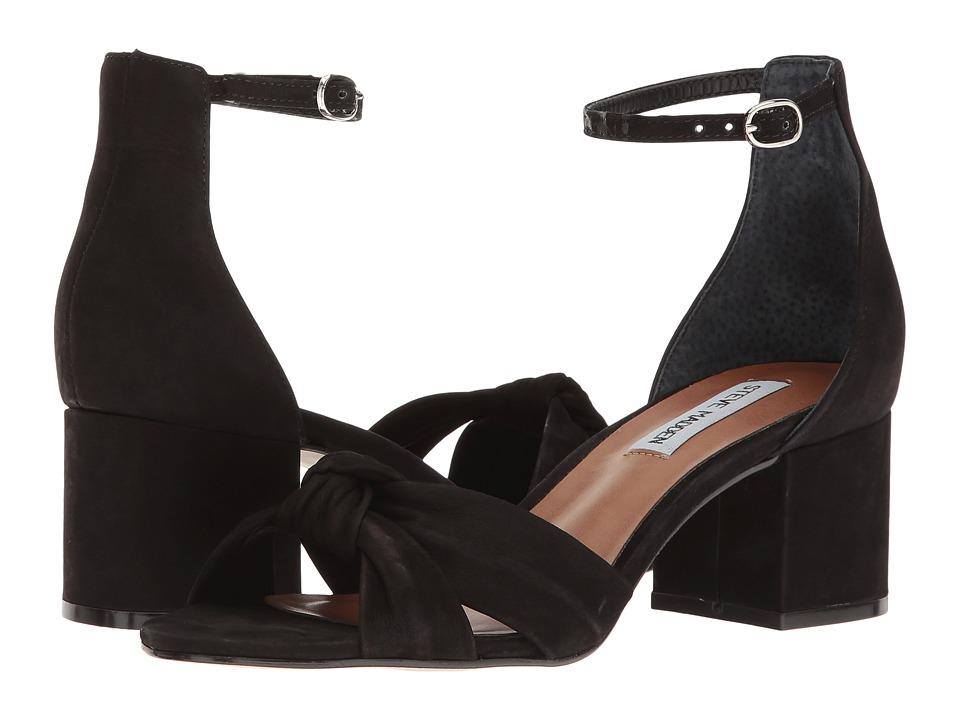 Steve Madden - Inspire (Black Nubuck) Women's Sandals