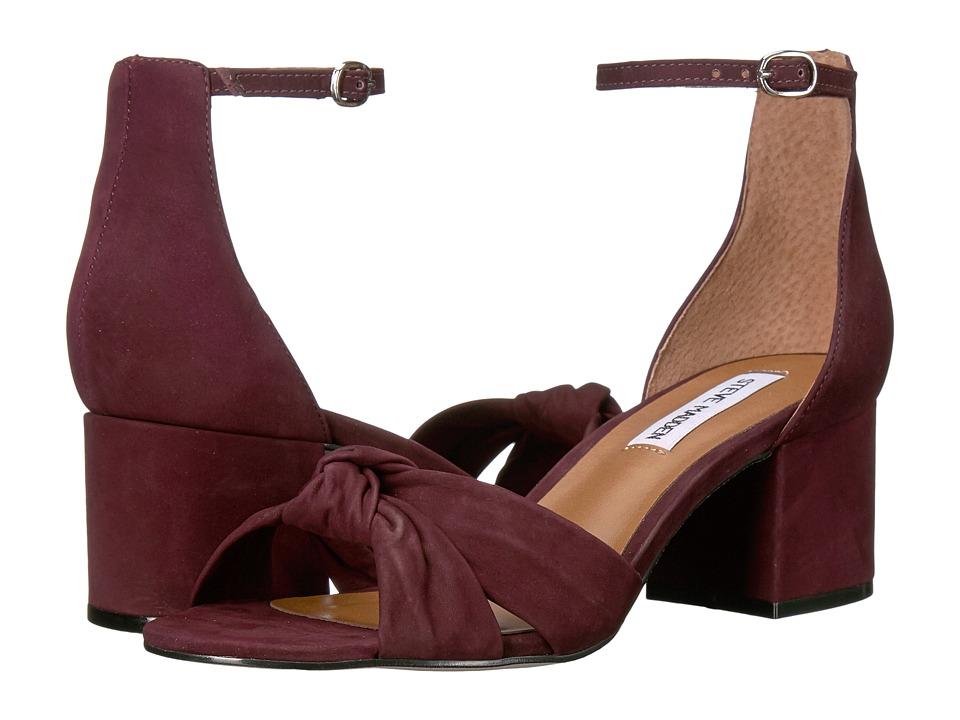 Steve Madden - Inspire (Wine Nubuck) Women's Sandals