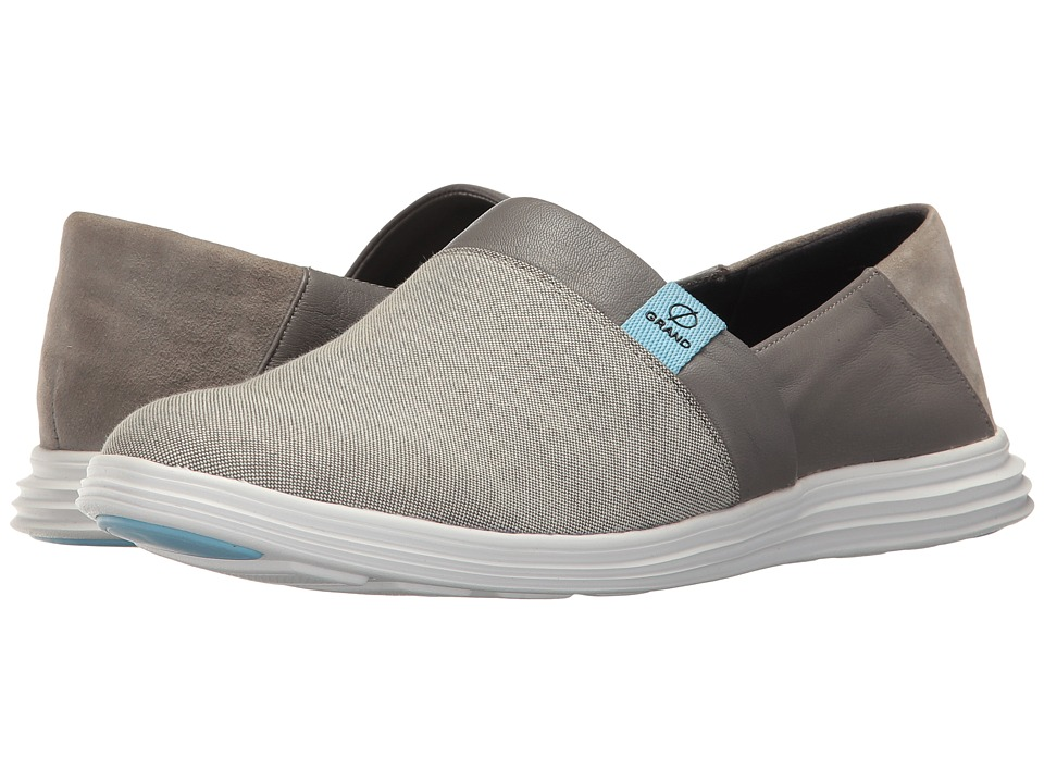 Cole Haan - Ella Grand Slip-On (Ironstone Canvas/Ironstone) Women's Slip on Shoes