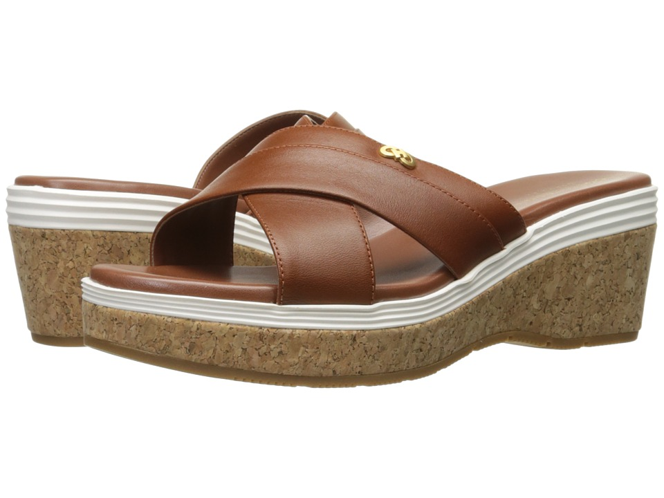 Cole Haan - Briella Grand Sandal II (Woodbury/Ivory) Women's Sandals