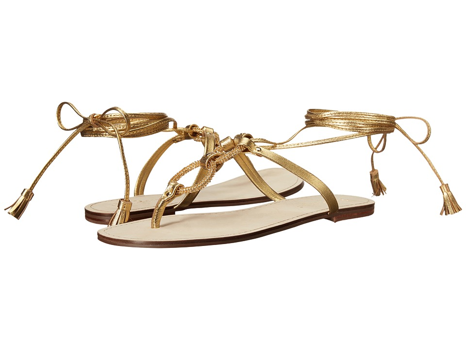 Lilly Pulitzer - Lacey Sandal (Gold Metal) Women's Sandals