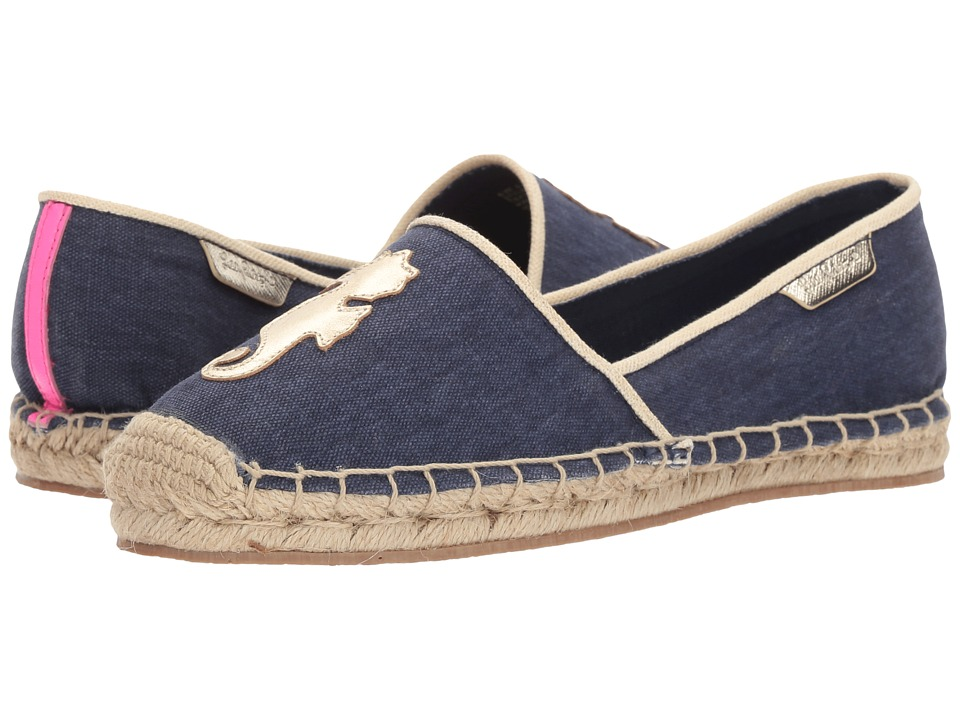 Lilly Pulitzer - Lia Espadrille (True Navy) Women's Slip on Shoes
