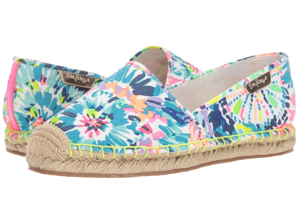 Lilly Pulitzer - Lia Espadrille (Multi) Women's Slip on Shoes