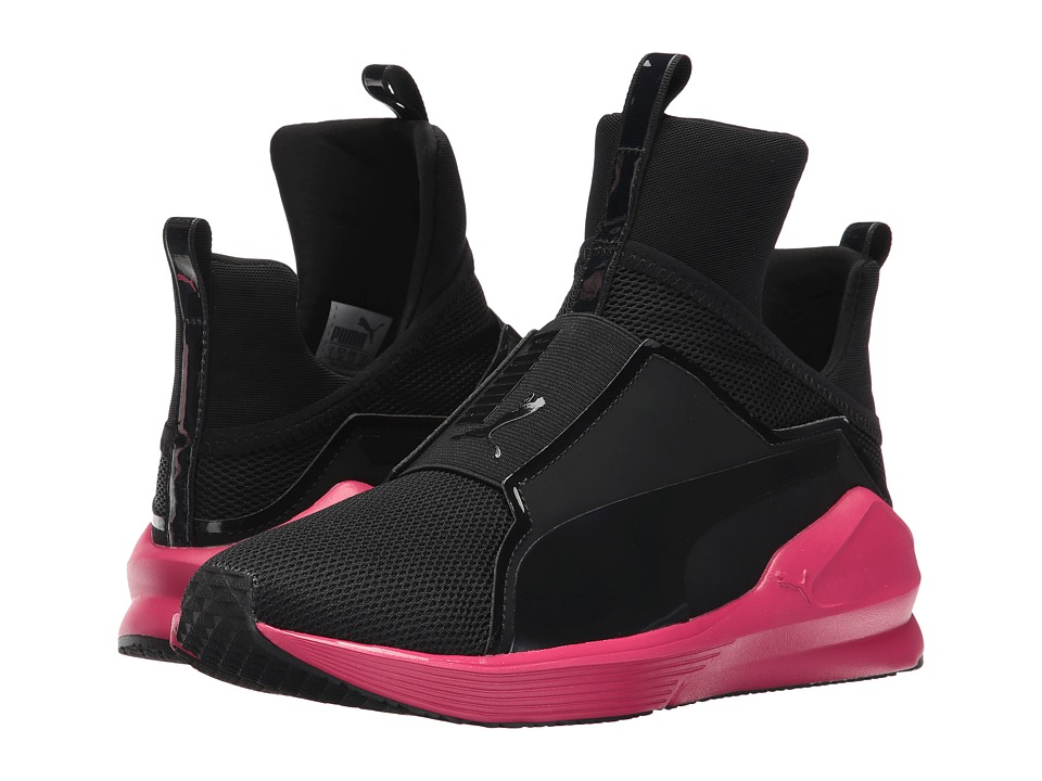 PUMA - Fierce Core (Puma Black/Love Potion) Women's Shoes