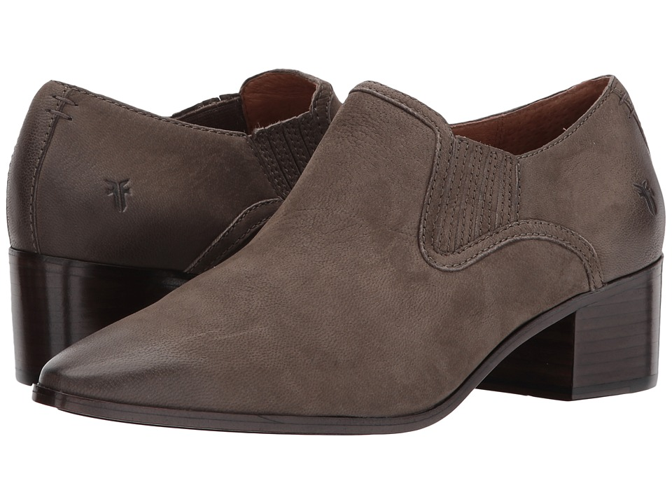 Frye Eleanor Western Shootie (Grey Nubuck) Women