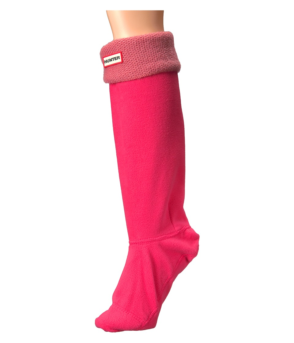 Hunter - Original Tall Boot Sock Mohair (Bright Watermelon) Women's Crew Cut Socks Shoes