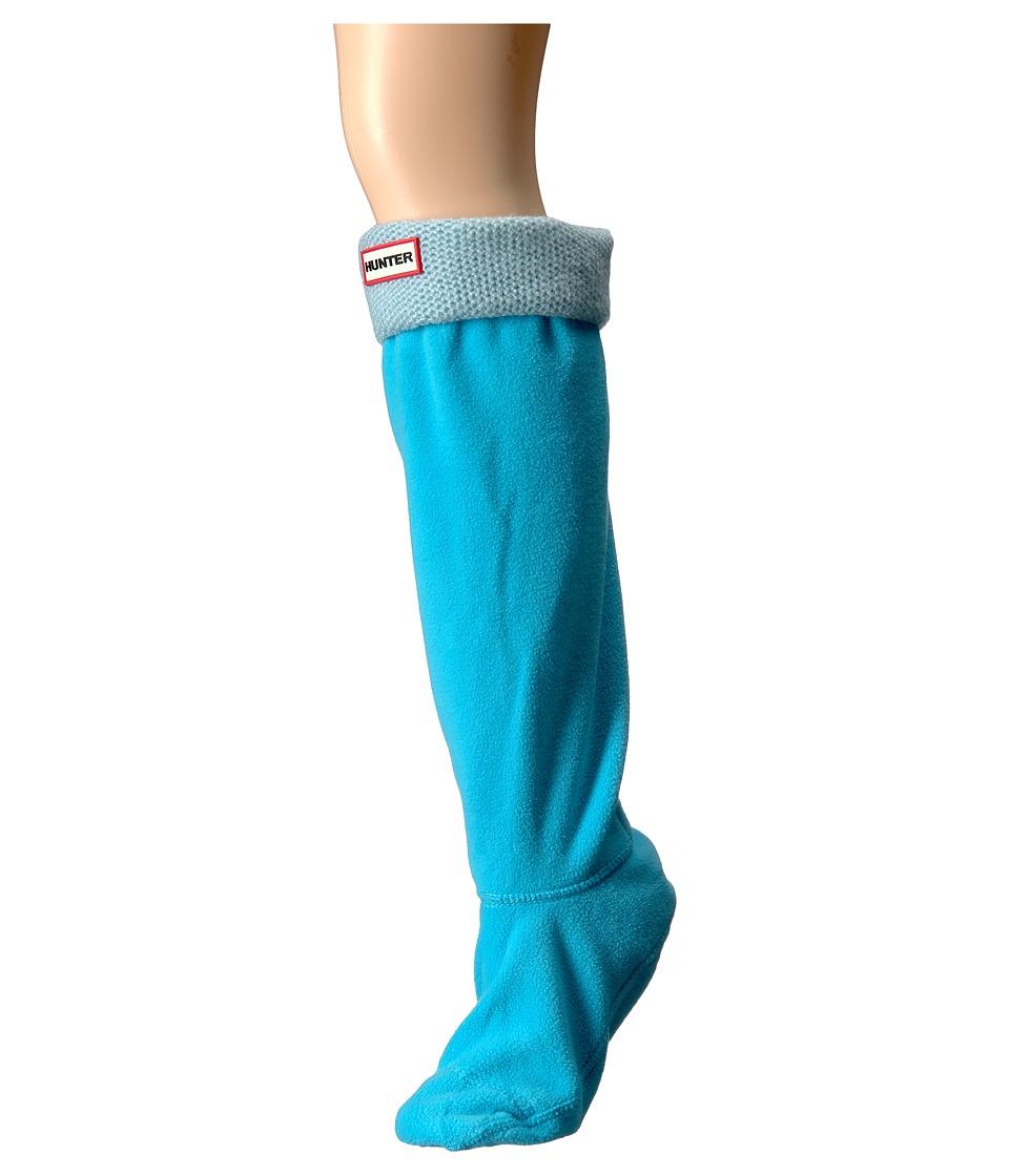 Hunter - Original Tall Boot Sock Mohair (Sky Blue) Women's Crew Cut Socks Shoes