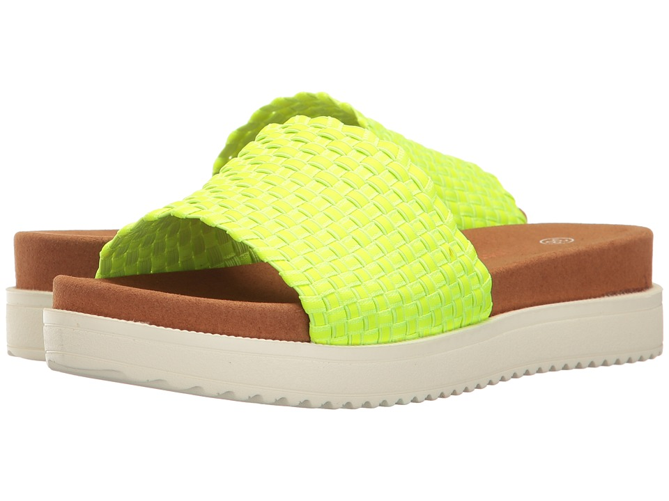 bernie mev. - Capri (Neon Green) Women's Sandals