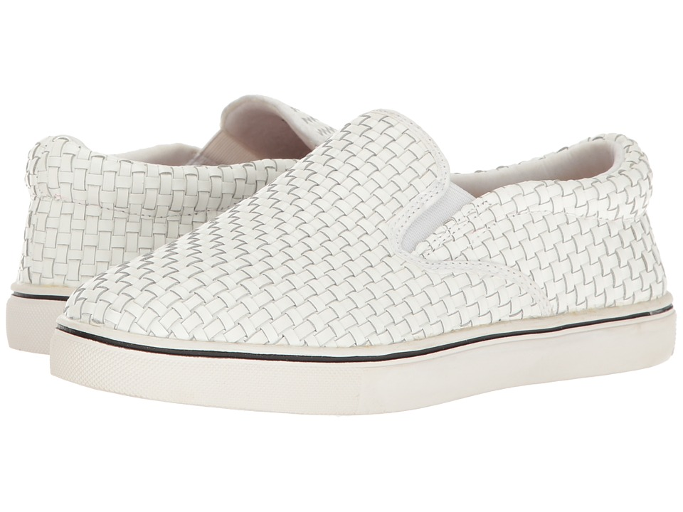 bernie mev. - Verona Leather (White) Women's Slip on Shoes