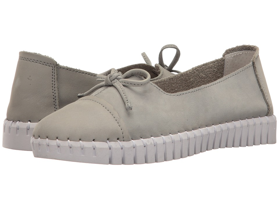 bernie mev. - TW 50 (Grey Nubuck) Women's Slip on Shoes