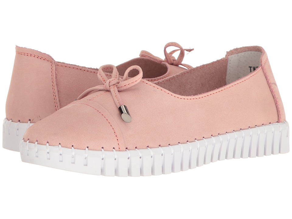 bernie mev. - TW 50 (Pink Nubuck) Women's Slip on Shoes