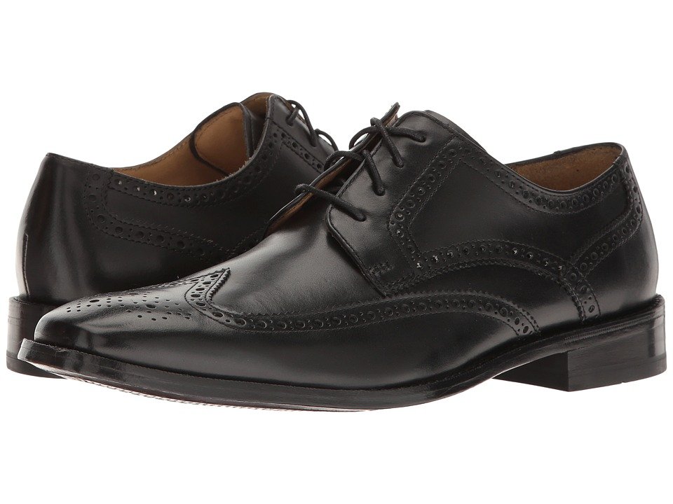 Cole Haan - Giraldo Wingtip II (Black) Men's Shoes