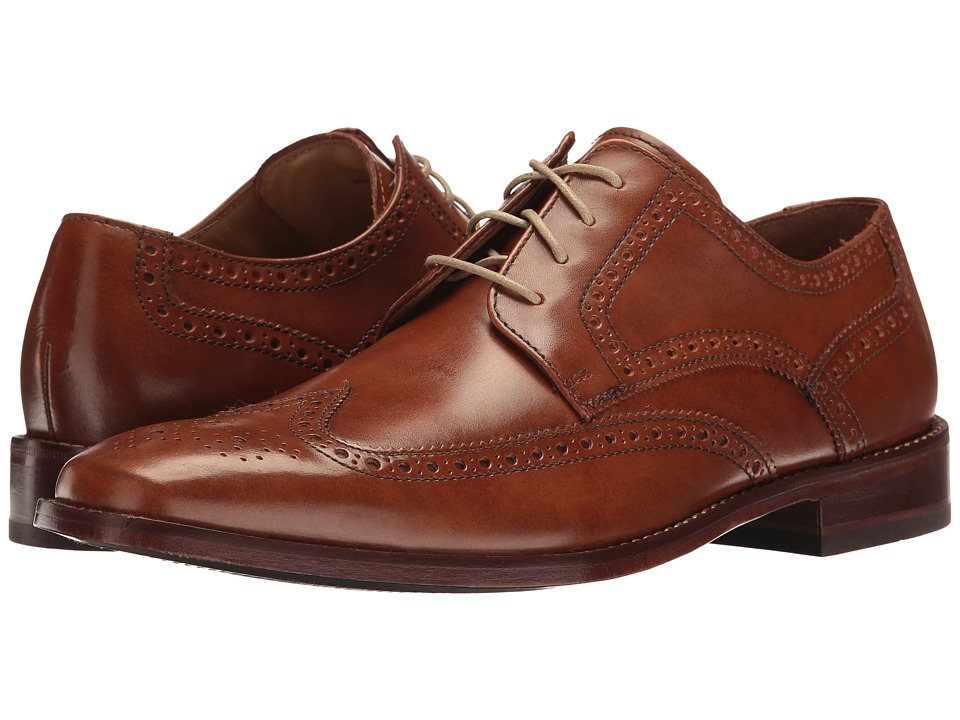 Cole Haan - Giraldo Wingtip II (British Tan) Men's Shoes