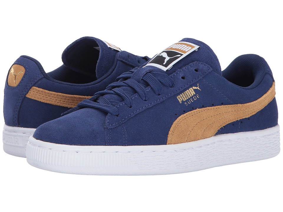 PUMA - Suede Classic (Blue Depths/Apple Cinnamon) Women's Shoes