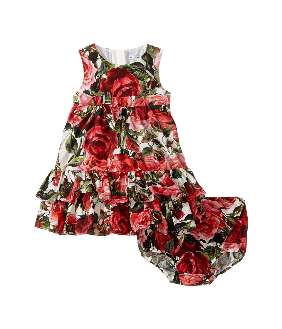 Dolce & Gabbana Kids - Zambia Shirt/Shorts Set (Infant) (Rose Print) Girl's Dress