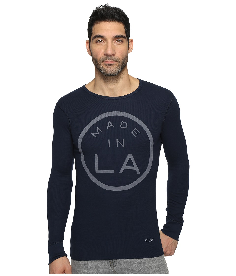 KINETIX - Made in LA Thermal (Navy) Men's Clothing