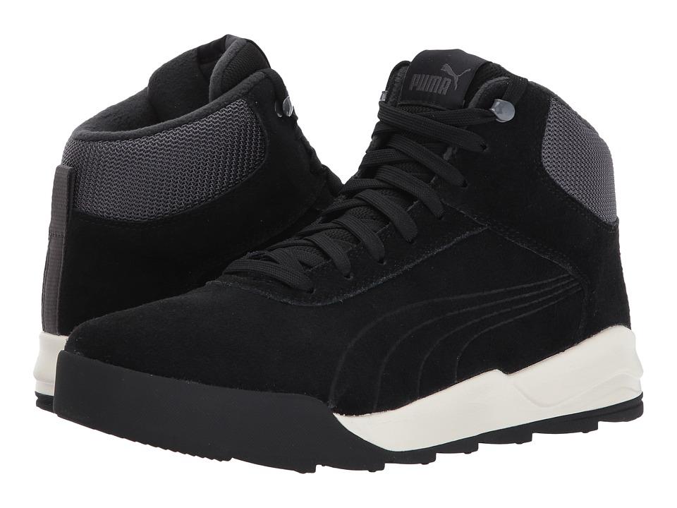 PUMA Desierto Sneaker (Puma Black/Puma Black/Whisper White) Men