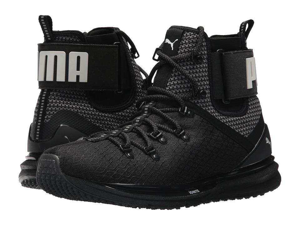 PUMA Ignite Limitless Boot (Puma Black/High Risk Red) Men