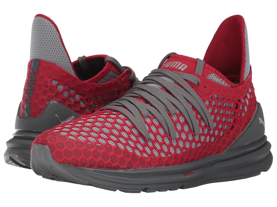PUMA - Ignite Limitless Netfit (Quiet Shade/Toreador) Men's Shoes