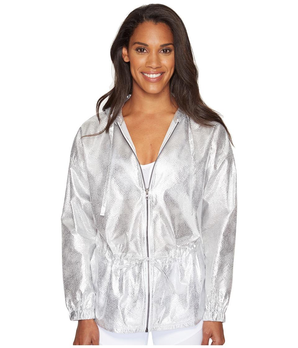 ALO - Hideaway Jacket (Silver) Women's Coat