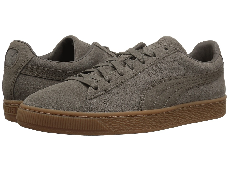 PUMA - Suede Classic Natural Warmth (Falcon/Falcon) Men's Shoes