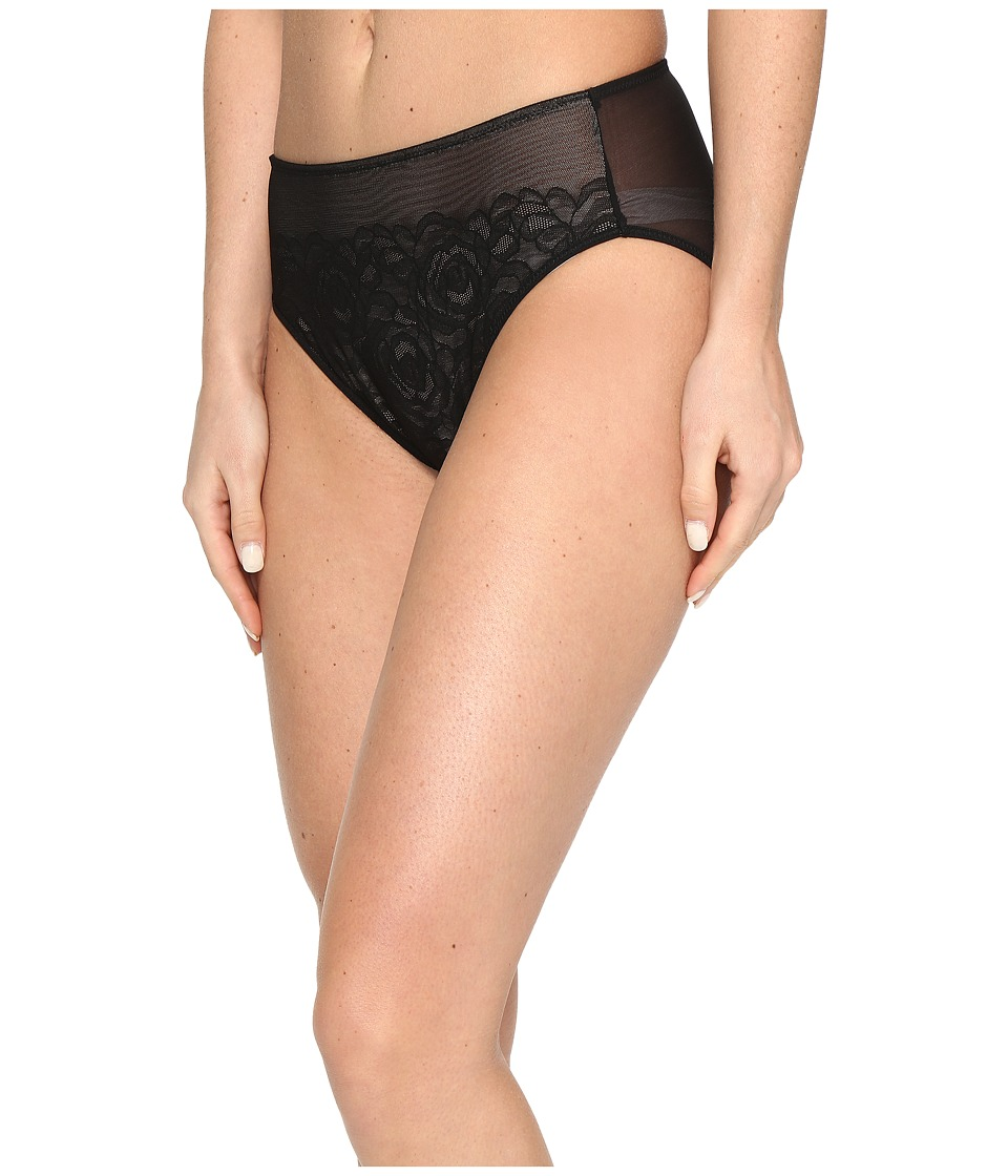 Wacoal - Stark Beauty Hi-Cut Brief (Black) Women's Underwear
