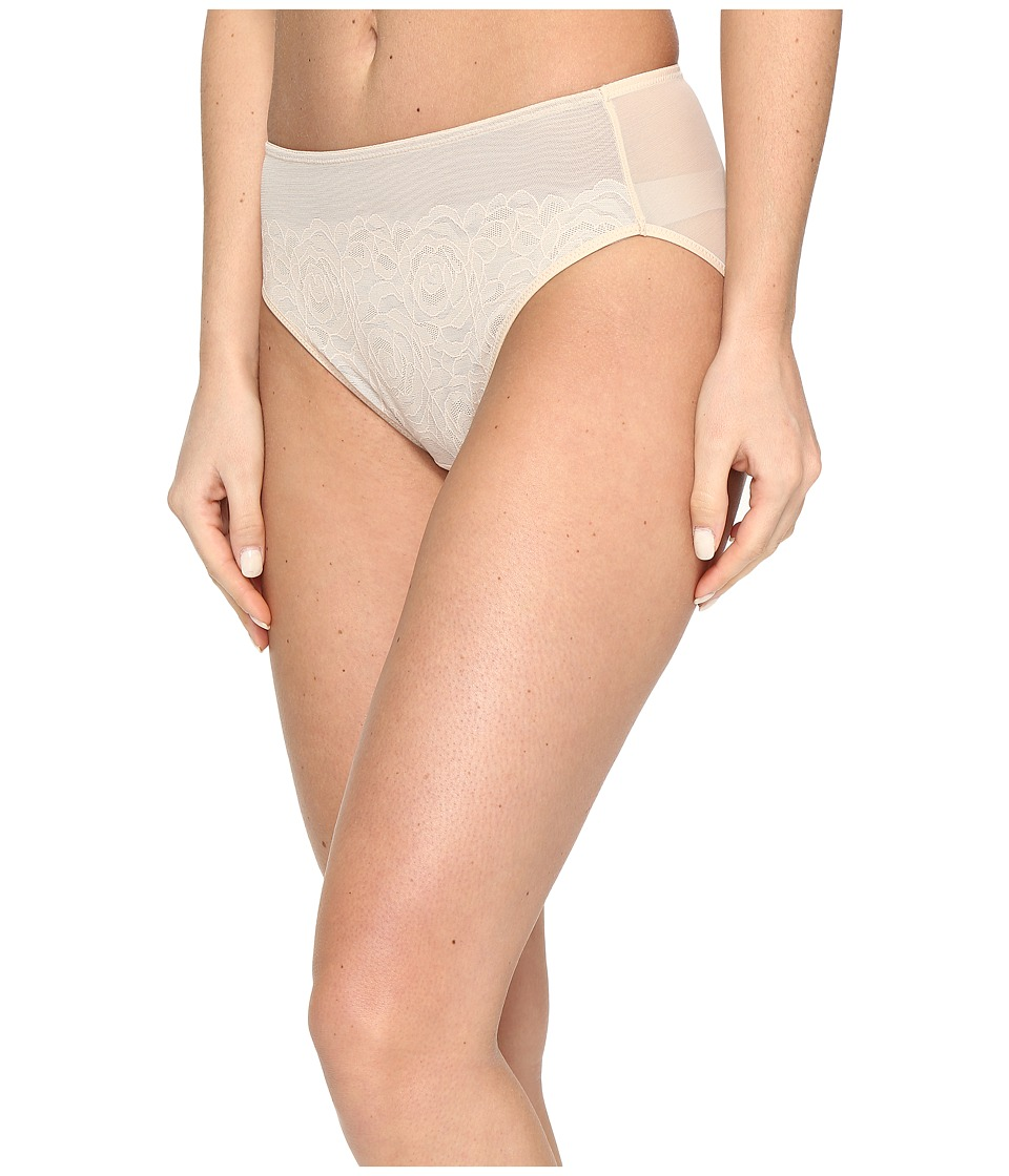 Wacoal - Stark Beauty Hi-Cut Brief (Sand) Women's Underwear