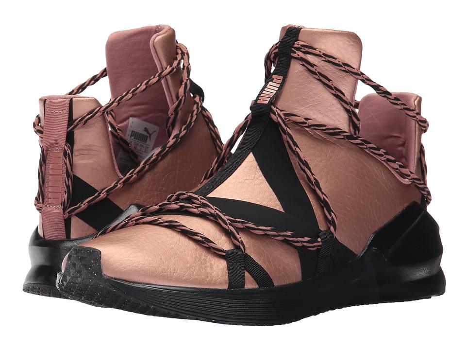 PUMA - Fierce Rope Copper (Copper Rose/Puma Black) Women's Shoes