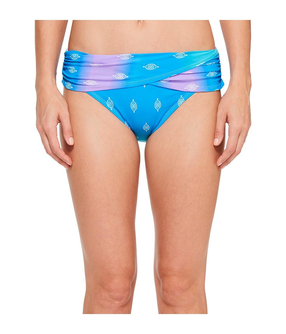 Bleu Rod Beattie - Passage To India Sarong Hipster (Bleu Lagoon) Women's Swimwear