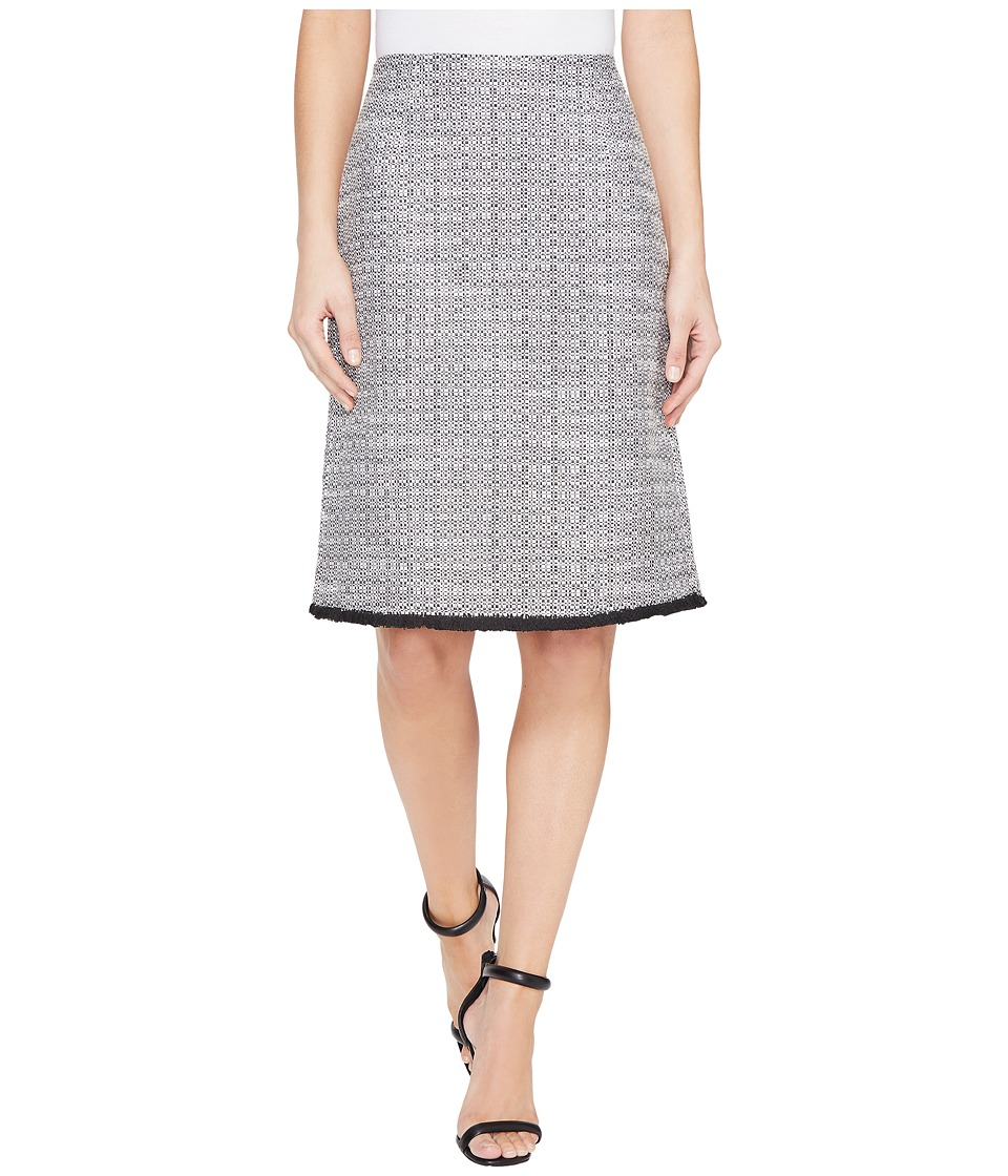 Ellen Tracy - A-Line Skirt (Black Combo) Women's Skirt