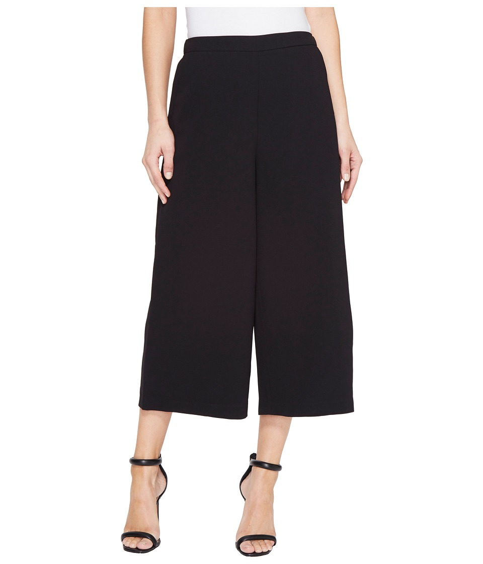 Ellen Tracy - Wide Leg Crop Pants (Black) Women's Casual Pants